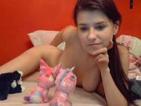 Having fun with plushies turned into naked chat