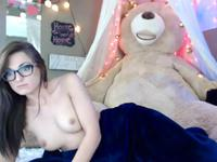 A sexy brunette with glasses gets tempted and used