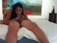 Milf handles a large cock