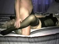My wife spreads her legs wide for deeper fuck