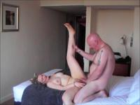A milf is fucked and licked