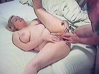 Chubby big tit wife Michele is a horny fat girl