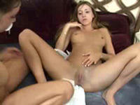 Crazy lesbian babes work each other