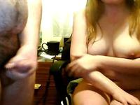 New amateur couple loves the webcam