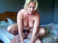 Blonde Milf wants my cock