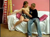 Sexy show of teens