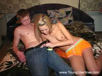 Sex with teen Blondie