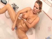 So pretty blonde wife is taken on video making fun when parents leave,damn