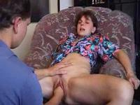 Mature nanny gets her slit fisted
